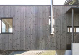 Holzrigelhaus der Familie Lotha in Imst