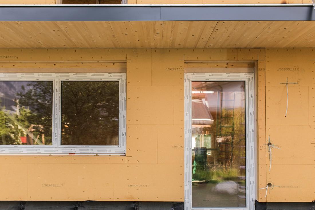 Holzriegel – Leitner Günter Bau aus Ötztal Bahnhof